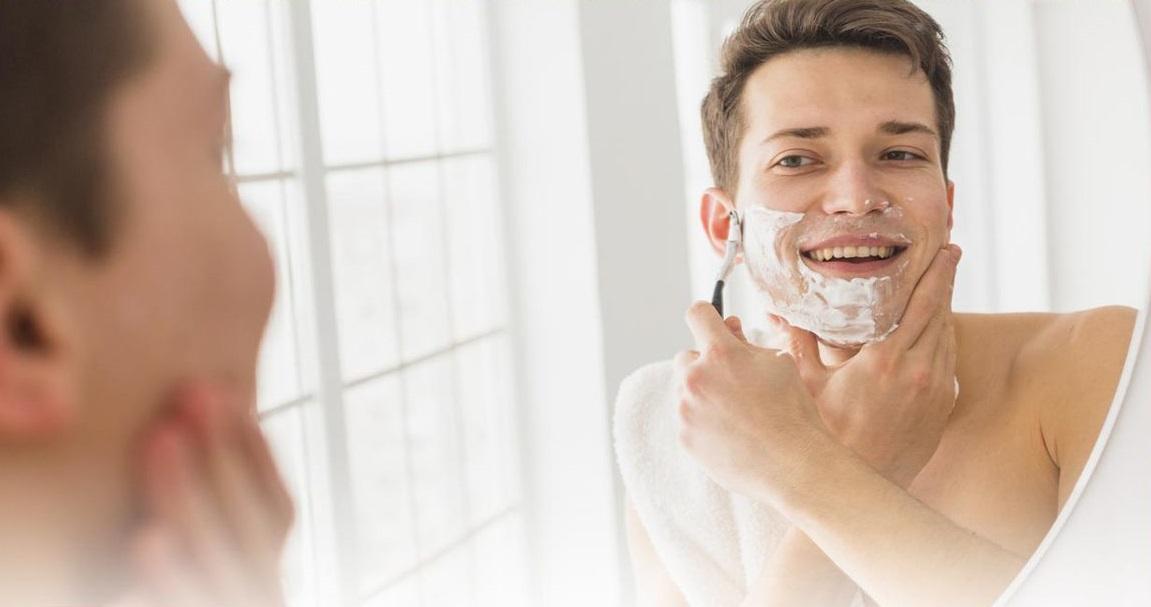 اصلاح با خمیر ریش