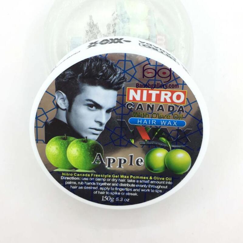 چسب مو نیترو کانادا عصاره سیب